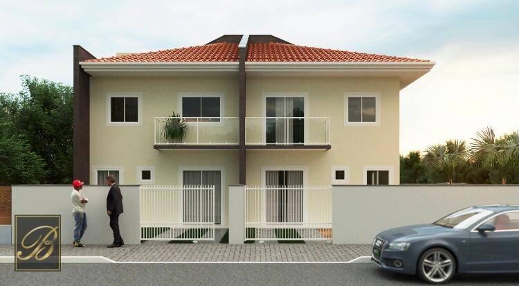 Sobrado com 2 dormitórios à venda, 61 m² por R$ 200.000,00 - Jardim Iririú - Joinville/SC
