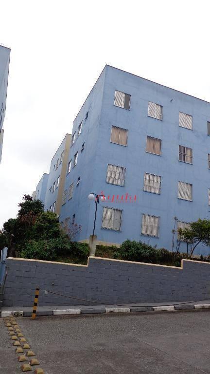 Apartamento com 2 dormitórios à venda, 49 m² por R$ 170.000 - Cidade São Jorge - Santo André/SP