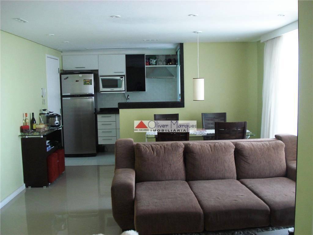 Apartamento com 2 dormitórios à venda, 80 m² por R$ 560.000  Rua General Bitencourt, 560 - Centro - Osasco/SP