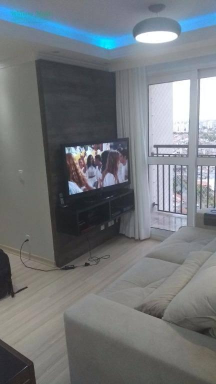 Apartamento residencial à venda, 3 dormitórios, 1 suíte, 1 v