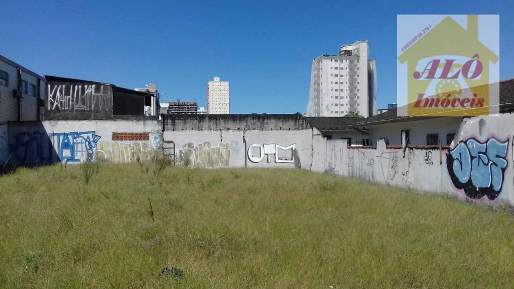 Área para alugar, 835 m² por R$ 20.000,00/mês - Vila Guilhermina - Praia Grande/SP