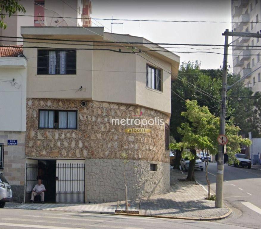 Sobrado com 3 dormitórios à venda, 114 m² por R$ 600.000,00 - Osvaldo Cruz - São Caetano do Sul/SP