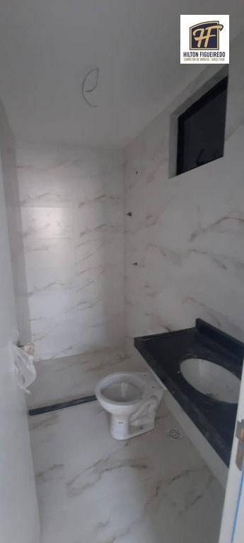 Apartamento com 3 dormitórios à venda, 75 m² por R$ 390.000 - Intermares - Cabedelo/PB
