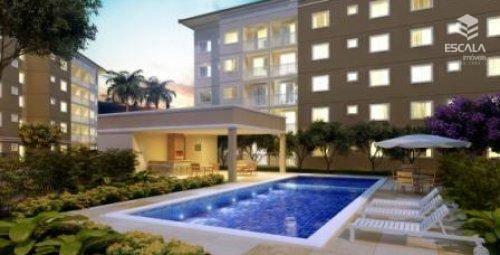 Apartamento com 2 quartos à venda, 53 m², área de lazer, 1 vaga, financia - Mondubim - Fortaleza/CE