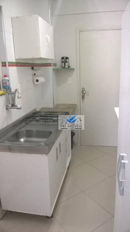 Kitnet à venda, 30 m² por R$ 149.000,00 - José Menino - Santos/SP
