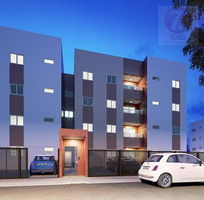 Apartamento residencial à venda, Recanto do Poço, Cabedelo -