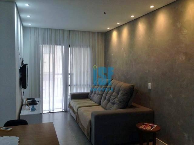 Apartamento com 3 dormitórios à venda, 79 m² por R$ 420.000 - Granja Viana - Cotia/SP - AP24859.