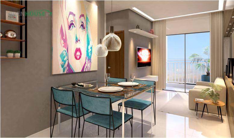 Apartamento com 2 dormitórios à venda, 48 m² por R$ 147.990 - Atalaia - Ananindeua/PA