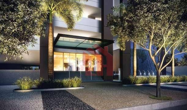 Sala, 42 m² - venda por R$ 148.000,00 ou aluguel por R$ 1.500,00/mês - Vila Matias - Santos/SP