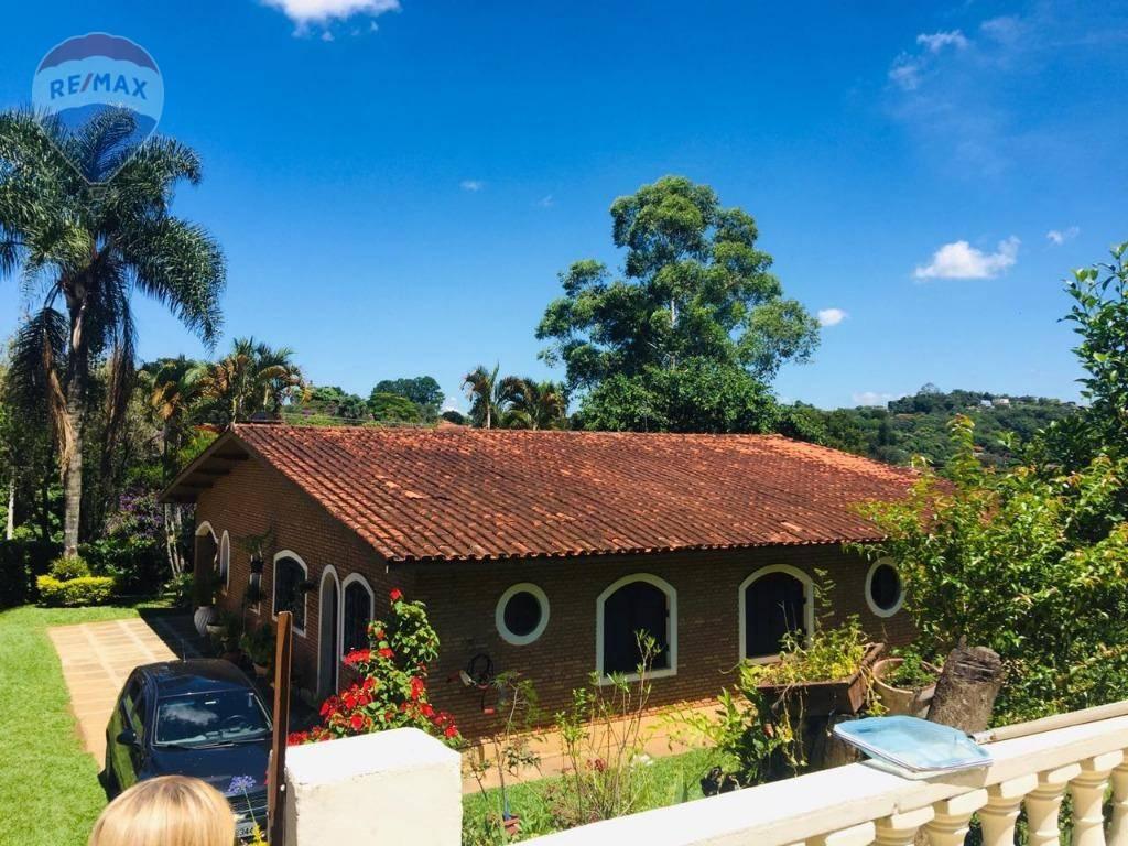 Chácara com 7 dormitórios para alugar, 7000 m² por R$ 15.000/mês - Jardim Estância Brasil - Atibaia/SP