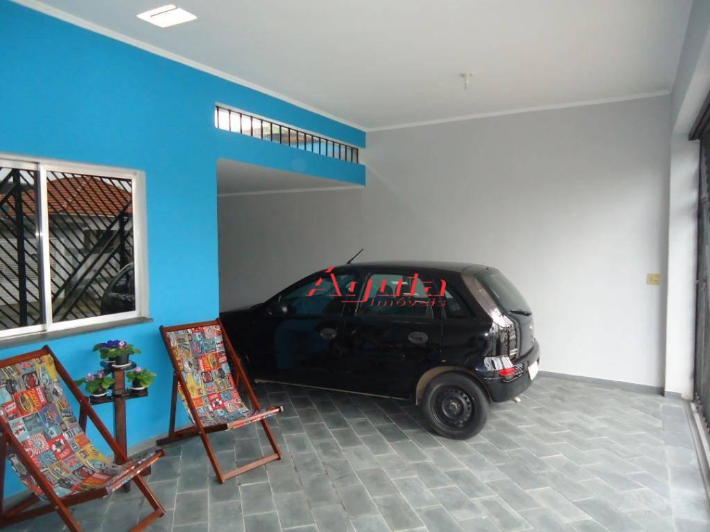 Sobrado com 2 dormitórios à venda, 133 m² por R$ 530.000 - Jardim Santo Alberto - Santo André/SP