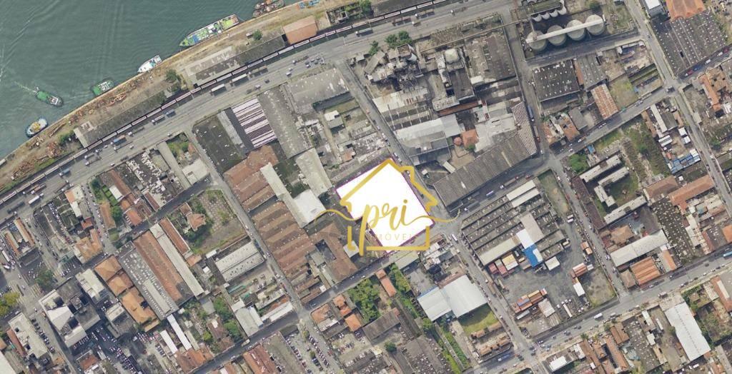 Galpão à venda, 4200 m² por R$ 10.000.000,00 - Paquetá - Santos/SP