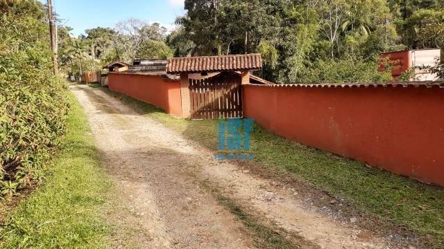 Chácara com 3 dormitórios à venda, 3700 m² por R$ 550.000 - Centro - Juquitiba/SP - CH0023.
