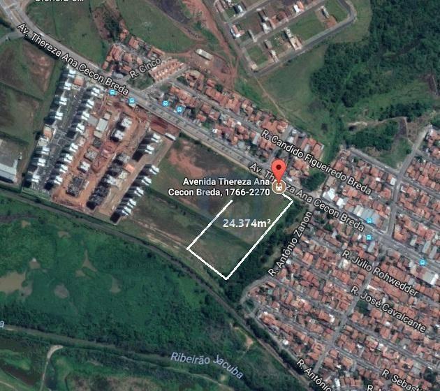 Área residencial à venda, Jardim das Colinas, Hortolândia.