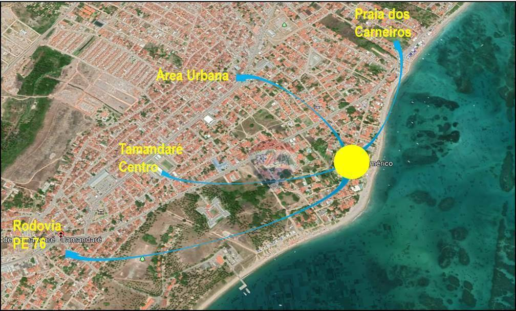 Terreno à venda, 2779 m² por R$ 5.900.000 - Tamandaré/PE