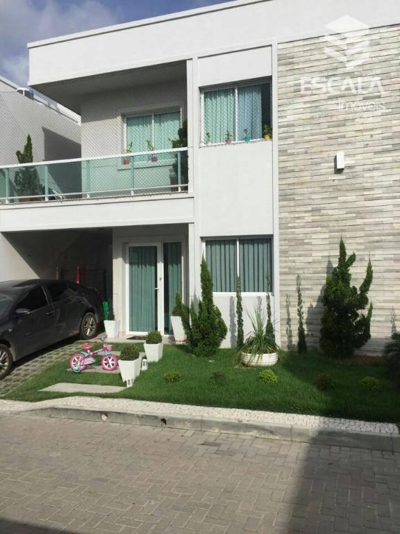 Casa com 3 quartos à venda, 135 m² , área de lazer, móveis projetados - José de Alencar - Fortaleza/CE