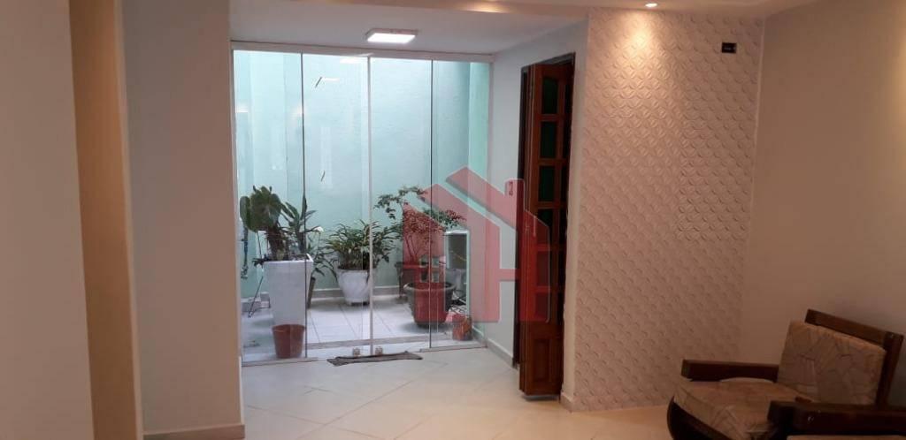 Excelente Sobrado Triplex todo reformado, 4 dormitórios, 1 suite e Garagem Fechada, Vila Belmiro