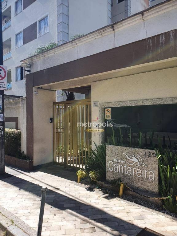 Apartamento à venda, 62 m² por R$ 285.000,00 - Parque São Vicente - Mauá/SP
