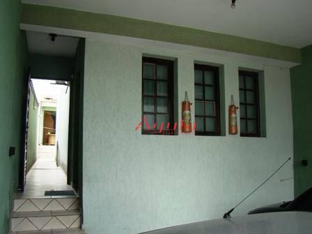 Sobrado com 3 dormitórios à venda, 175 m² por R$ 480.000 - Jardim Ana Maria - Santo André/SP