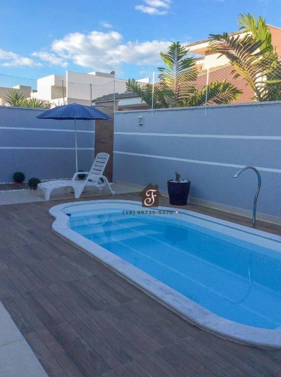 Casa à venda, 170 m² - Jardim Pari - Paulínia/SP