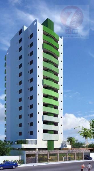 Apartamento residencial à venda, Tambaú, João Pessoa - AP001