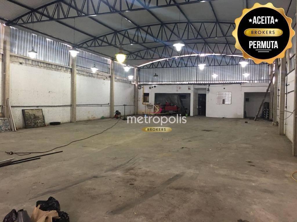 Galpão à venda, 398 m² por R$ 1.950.000,00 - Centro - São Caetano do Sul/SP