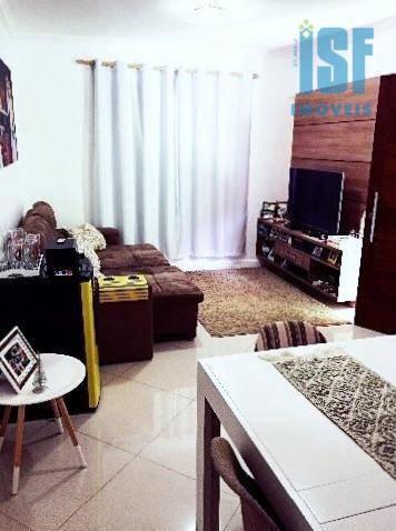 Sobrado com 2 dormitórios à venda, 60 m² por R$ 339.000 - Jardim Califórnia - Barueri/SP - SO3435