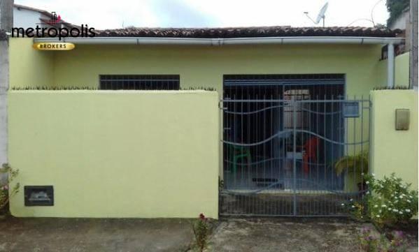 Casa com 2 dormitórios à venda, 70 m² por R$ 125.000 - Igapó - Natal/RN