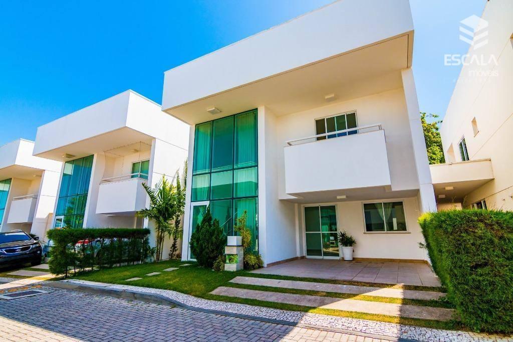 Casa duplex com 4 quartos à venda, 189 m², condomínio fechado - Sapiranga - Fortaleza/CE
