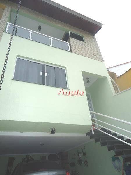 Sobrado com 3 dormitórios à venda, 171 m² por R$ 850.000,00 - Parque das Nações - Santo André/SP