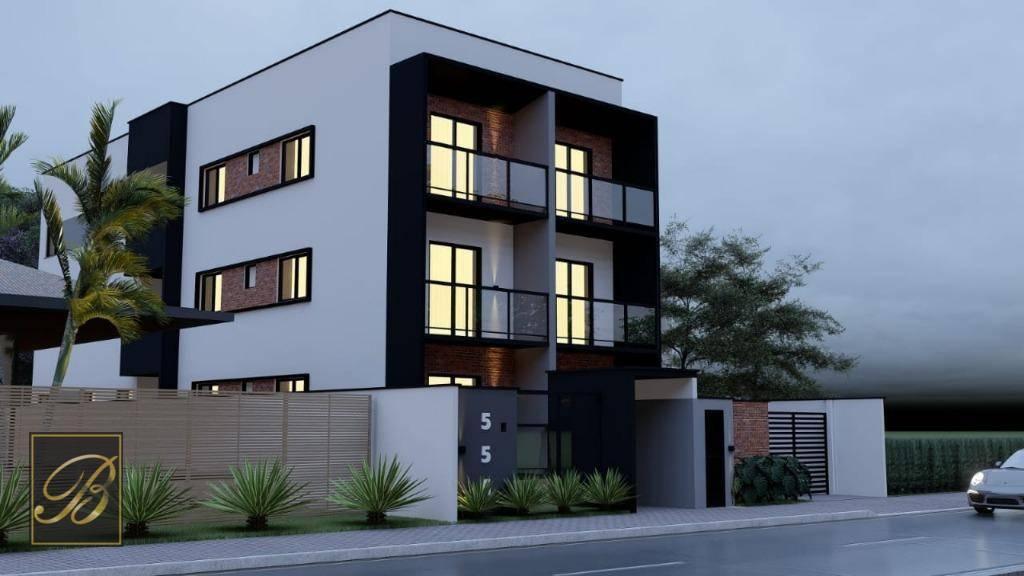 Apartamento com 2 dormitórios à venda, 49 m² por R$ 159.000 - Aventureiro - Joinville/SC