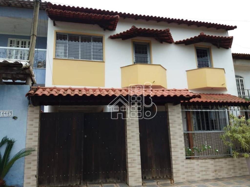 Casa com 4 dormitórios à venda, 165 m² por R$ 380.000,00 - Centro (Manilha) - Itaboraí/RJ