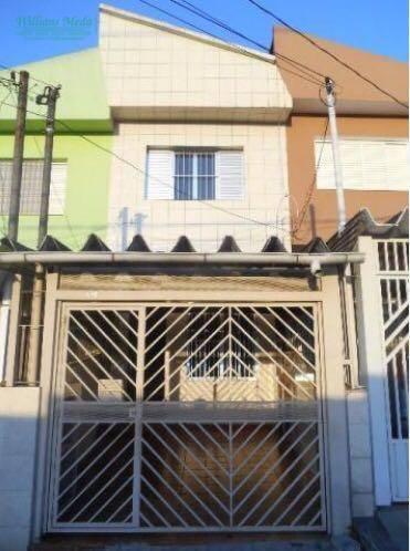 Sobrado residencial à venda, Vila Nossa Senhora de Fátima, Guarulhos.
