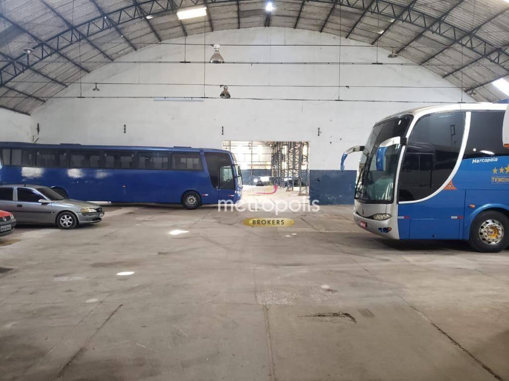 Galpão para alugar, 1080 m² por R$ 19.440,00/mês - Independência - São Bernardo do Campo/SP