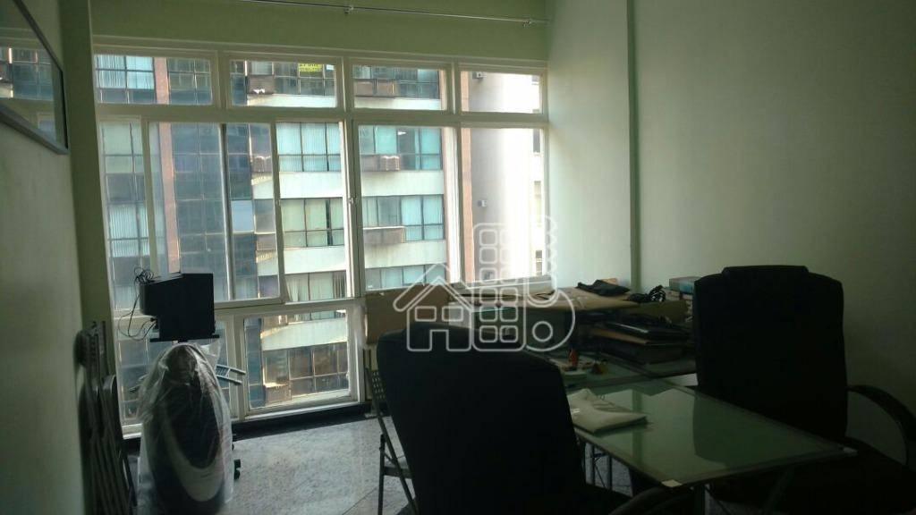 Sala à venda, 23 m² por R$ 150.000,00 - Centro - Niterói/RJ