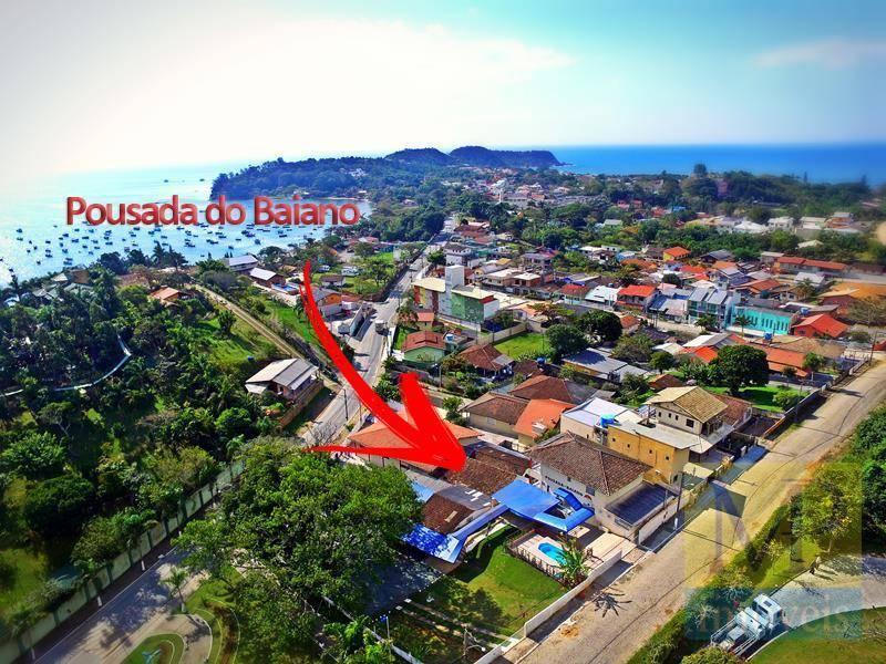Pousada com 24 dormitórios à venda, 600 m² por R$ 2.300.000,00 - Praia de Armação - Penha/SC