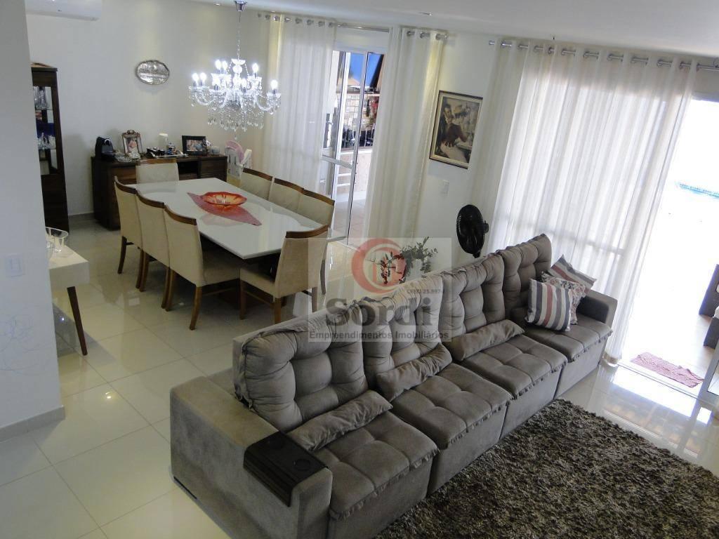 Sobrado com 5 dormitórios à venda, 365 m² por R$ 1.490.000 - Condomínio Guaporé - Ribeirão Preto/SP
