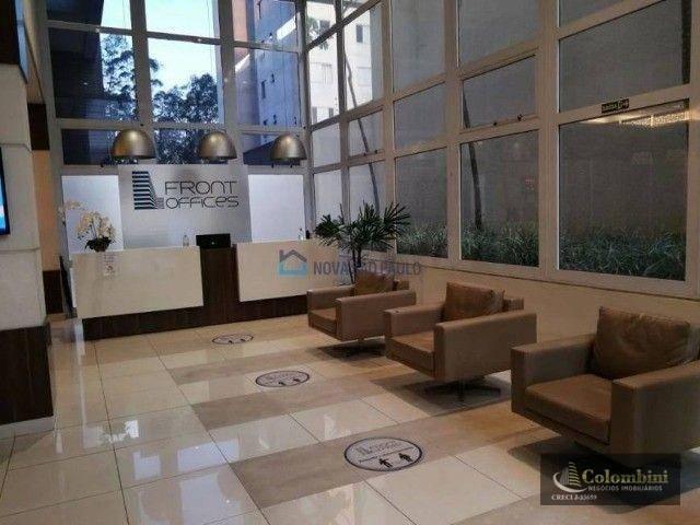 Sala, 34 m² - venda por R$ 240.000 ou aluguel por R$ 1.200/mês - Chácara Húngara - Diadema/SP