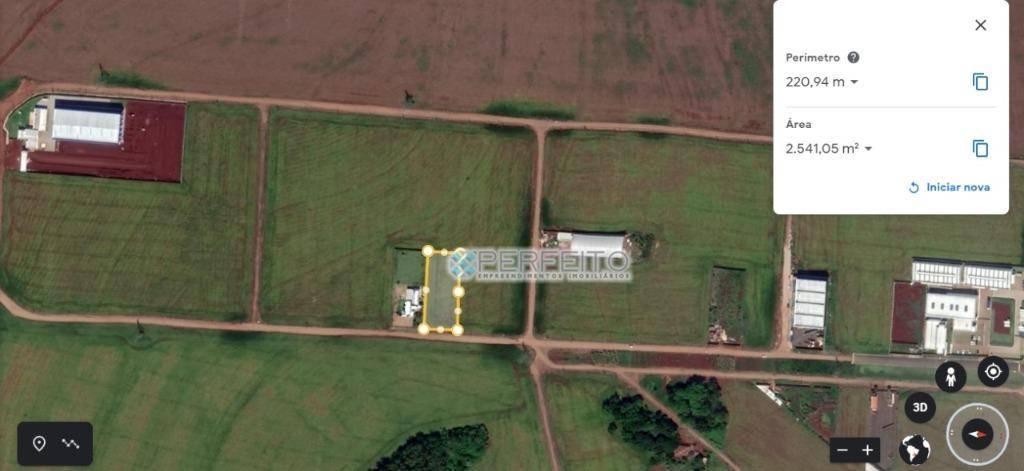 Terreno à venda, 2521 m² por R$ 632.000,00 - Estância Delaville - Londrina/PR