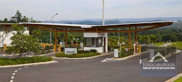 Terreno à venda, 422 m² por R$ 170.000,00 - Condomínio Alphaville Castello - Itu/SP