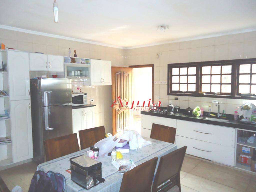 Casa com 3 dormitórios à venda, 280 m² por R$ 590.000 - Parque das Nações - Santo André/SP