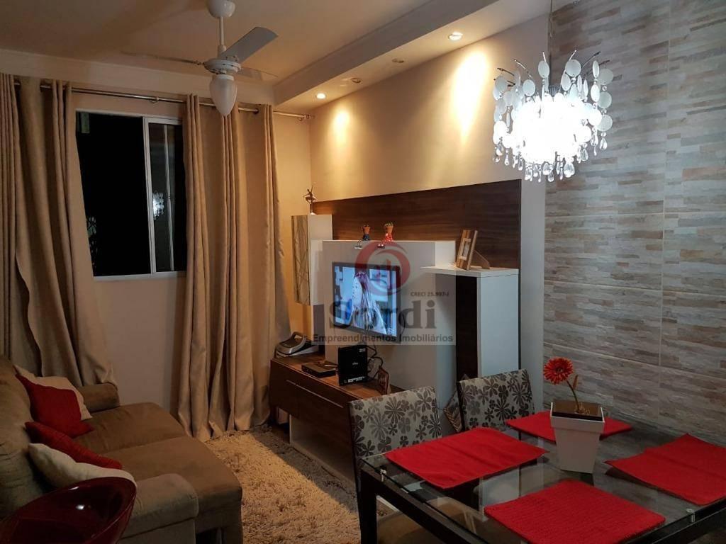 Apartamento à venda, 63 m² por R$ 202.000,00 - Sumarezinho - Ribeirão Preto/SP
