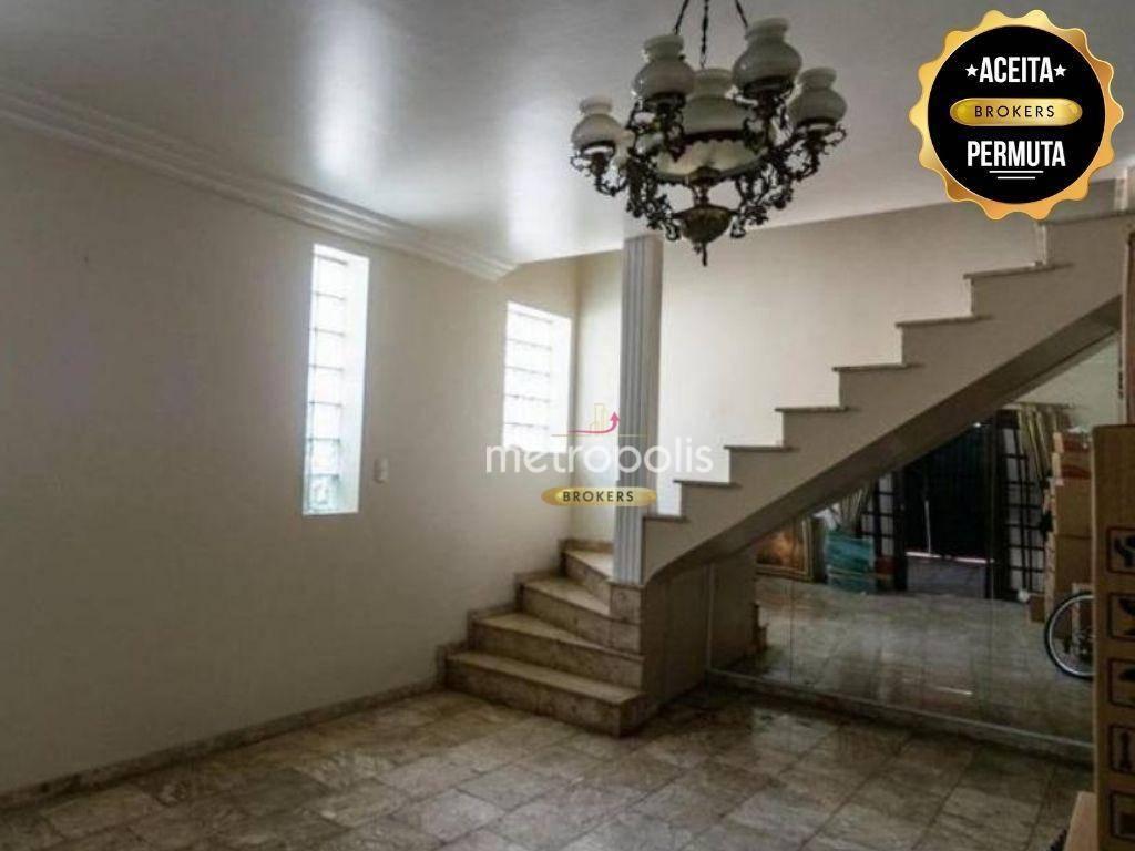 Sobrado com 4 dormitórios à venda, 300 m² por R$ 1.200.000,00 - Cerâmica - São Caetano do Sul/SP
