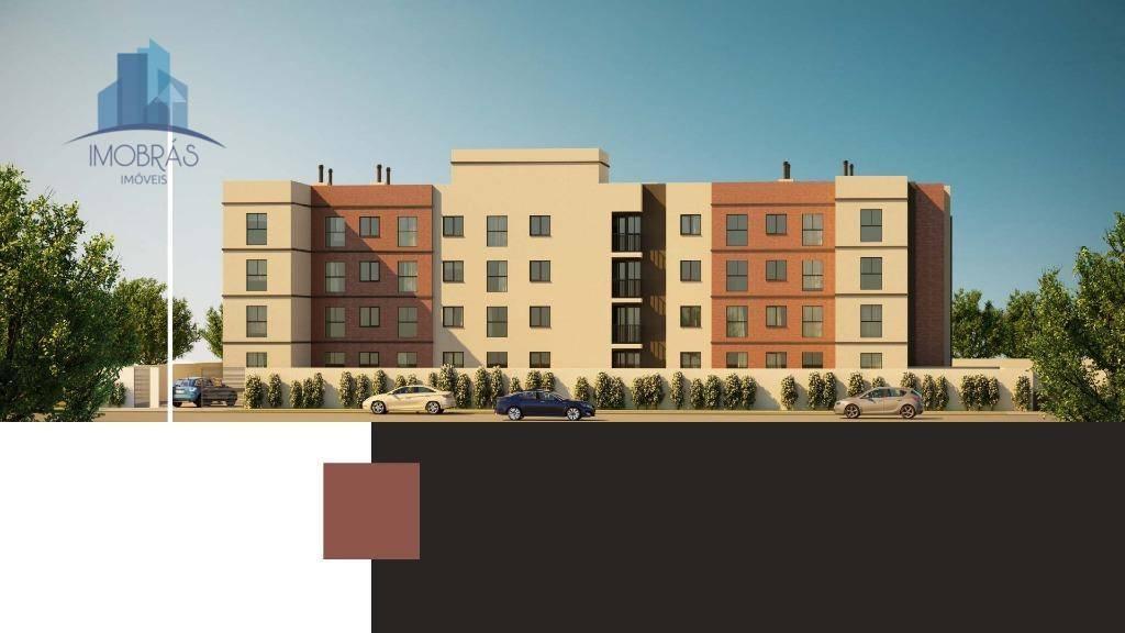 Apartamento com 2 dormitórios à venda, 45 m² por R$ 141.900 - Planta Bairro Weissópolis - Pinhais/PR