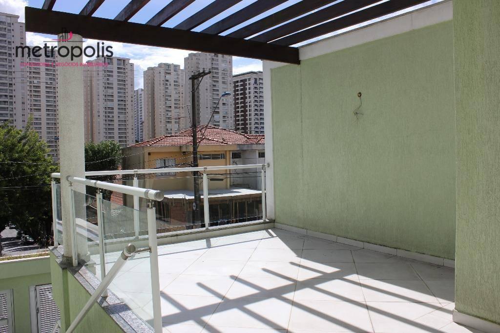 Sobrado com 3 dormitórios à venda, 301 m² por R$ 995.000,00 - Santa Maria - São Caetano do Sul/SP
