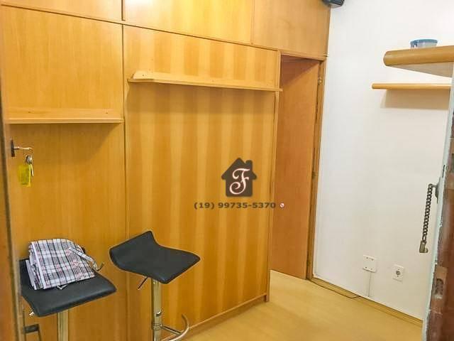 Kitnet com 1 dormitório à venda, 40 m² por R$ 185.000,00 - Botafogo - Campinas/SP