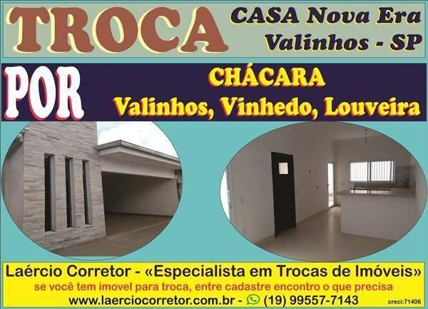 Casa com 3 dormitórios à venda, 220 m² por R$ 760.000,00 - Residencial Nova Era - Valinhos/SP