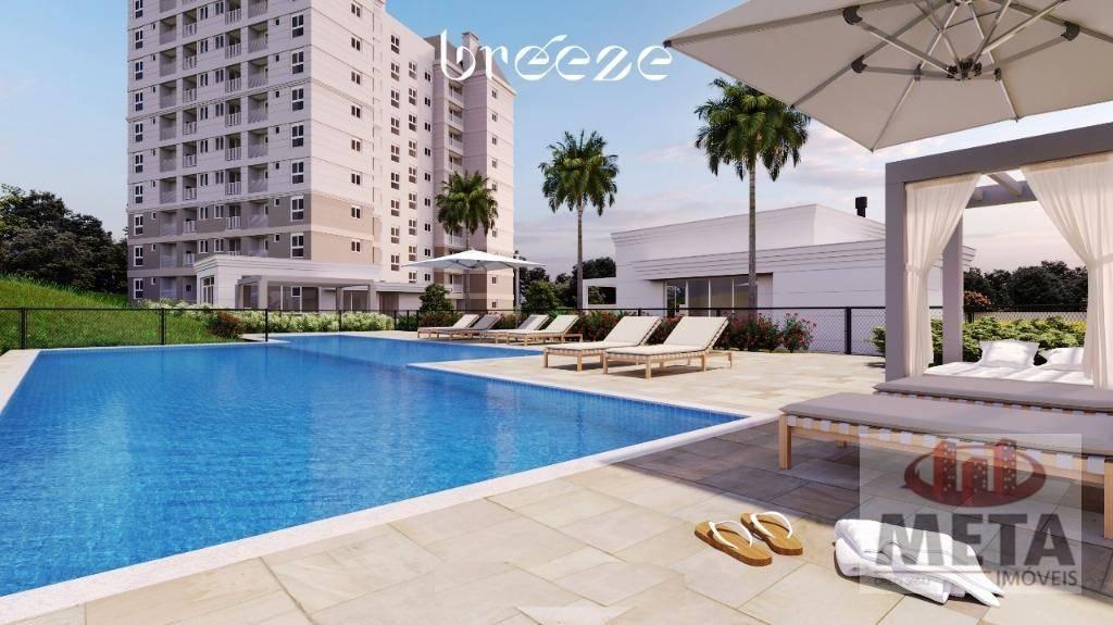 Apartamento com 3 Dormitórios à venda, 70 m² por R$ 367.873,00