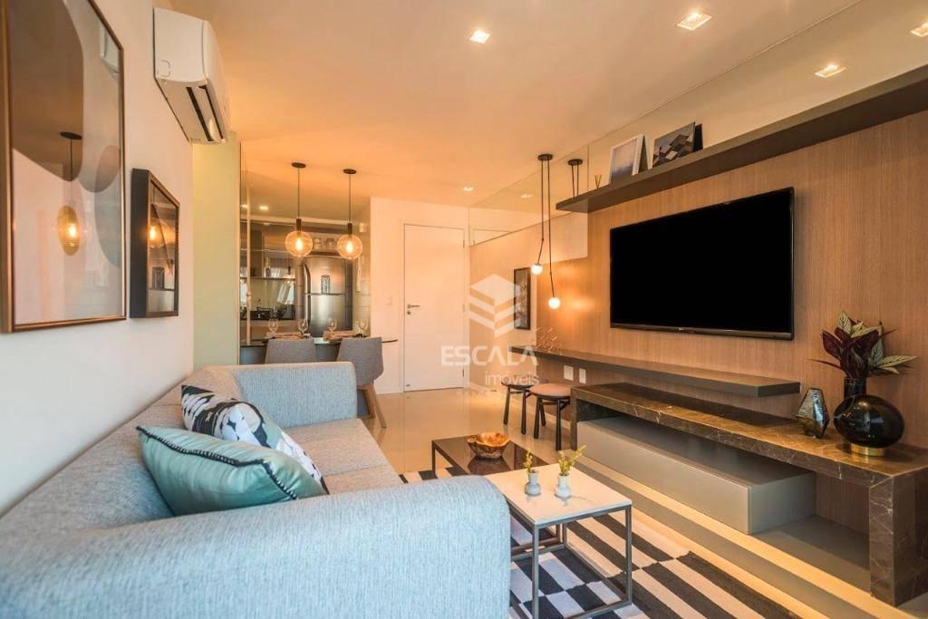 Apartamento com 3 quartos à venda, 79 m², suíte, 2 vagas, área de lazer, financia - Meireles - Fortaleza/CE