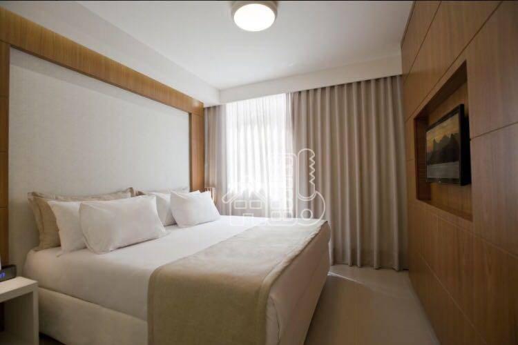 Hotel com 1 dormitório à venda, 30 m² por R$ 95.000,00 - Icaraí - Niterói/RJ